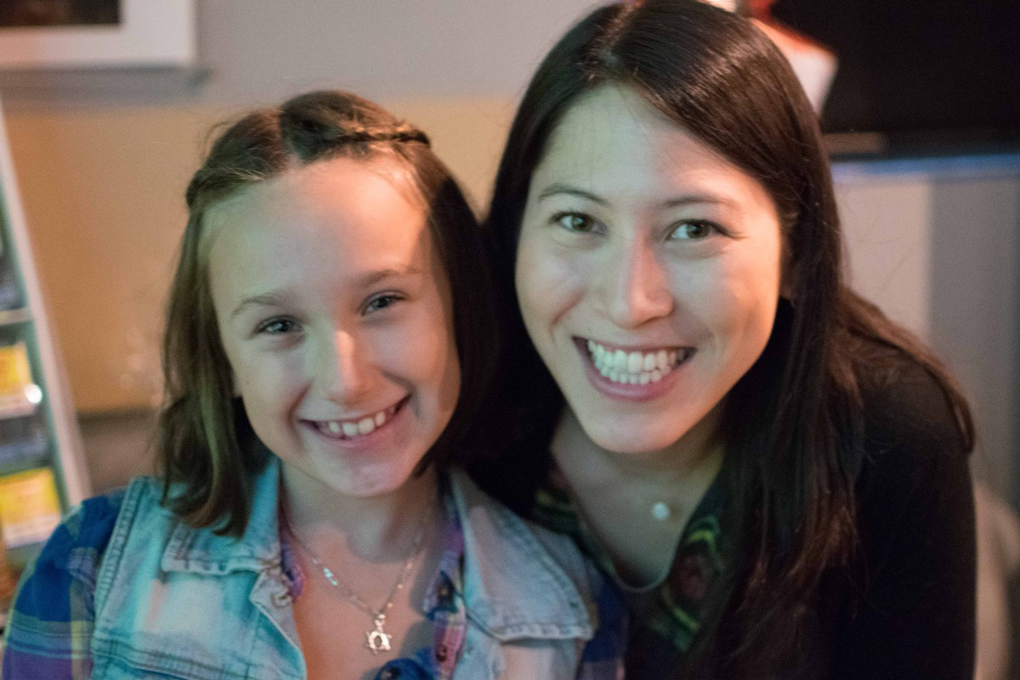 Peer Project Mentor Nicole Gives Back and Finds a Friend For Life
