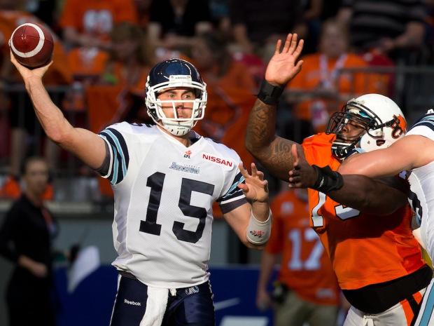 Aug 31: BC Lions vs. Toronto Argonauts