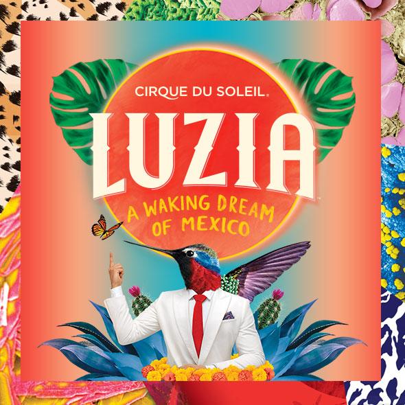Aug 25: Luzia - Cirque Du Soleil