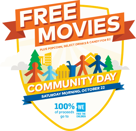 Oct 22: Cineplex Community Day
