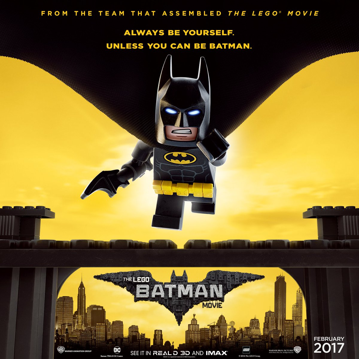 Feb 4: Movie Screening - The Lego Batman Movie