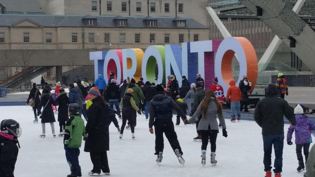 Feb 20: Family Day FREE Skate at Nathan Phillips Square