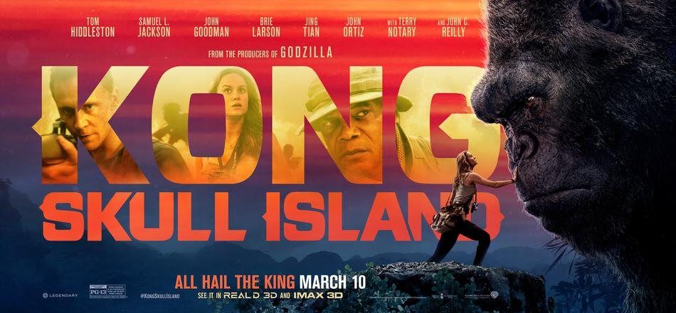 Mar 29: Movie Screening - Kong: Skull Island