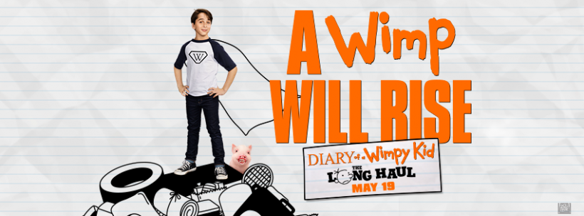 May 13: Movie Screening - Diary of a Wimpy Kid: The Long Haul