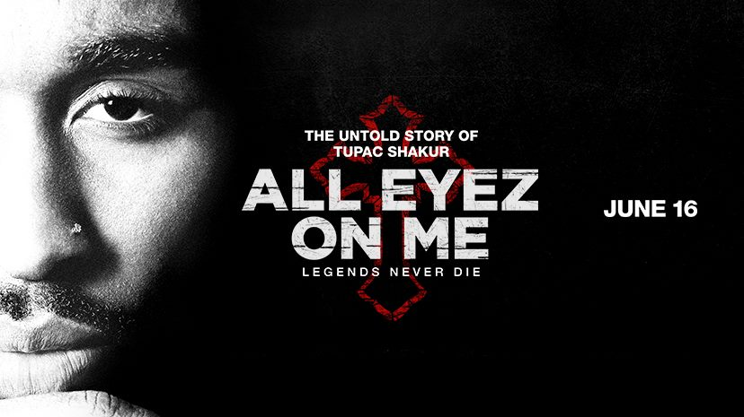 June 14: Movie Screening - Tupac Shakur Biopic: ALL EYEZ ON ME