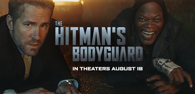 Aug 16: Movie Screening - The Hitman's Bodyguard