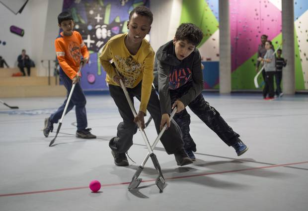 Sept 20: Ball Hockey for Newcomers - Level 1 | Rock Climbing, Soccer, Volleyball, Basketball + More