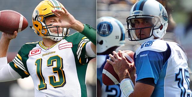 Sept 16: Edmonton Eskimos vs. Toronto Argonauts