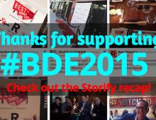 Glen and Jamie Present #BDE2015