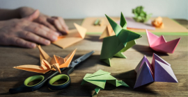 Dec 2: Origami – Paper Crafts DIY Virtual Workshop