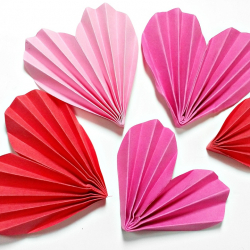 Feb 3: Valentine's Day Hearts Paper Craft DIY Virtual Workshop