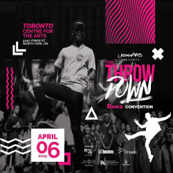 Apr 6: Urban Arts – The Throwdown Dance Convention