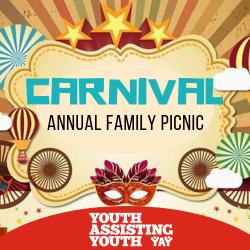June 1: Annual Family Picnic – CARNIVAL