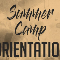 July 25: YAY Summer Camp Orientation – Mentor's Mix and Mingle