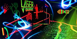 Aug 22: Live Action Laser Tag at Laser Quest Richmond Hill