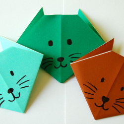 Jan 27: Origami Cats Paper Craft DIY Virtual Workshop