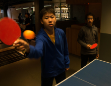 Table Tennis Fun with RBC Sports Day in Canada